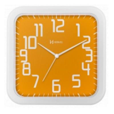 Relógio de Parede Moderno Laranja - 6667-193 - Herweg