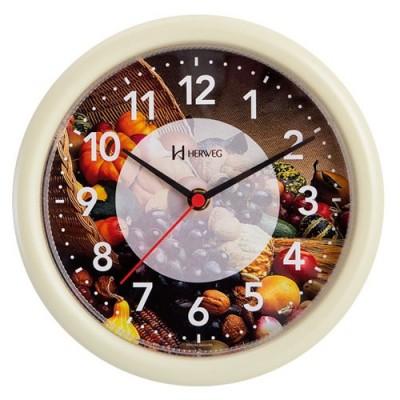 Relógio de Parede Decorativo Agrícola Branco - 6661-021 - Herweg