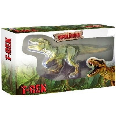 Animal de Brinquedo Colorido Dinolândia T-Rex - 2346 - Macro Internacional
