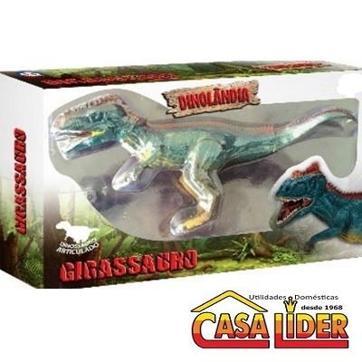 Animal de Brinquedo Colorido Dinolândia Giga - 2347 - Macro International