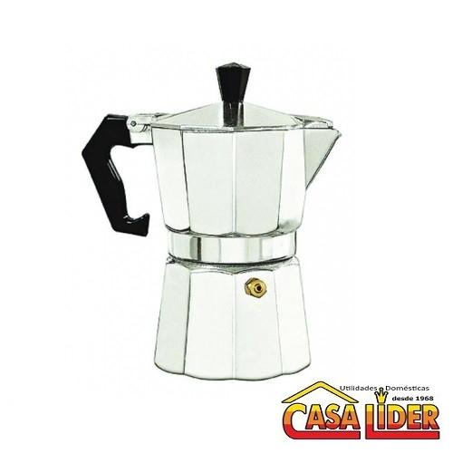Cafeteira Italiana 6 Xícaras Alumínio - 09516.3900.70 - Soprano
