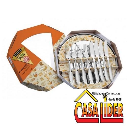 Kit em Inox para Pizza 9 peças - 64740/010 - Tramontina