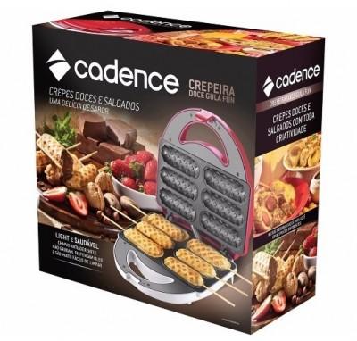Crepeira Cadence Doce Gula Fun 750W 127V - CRP301 - Cadence