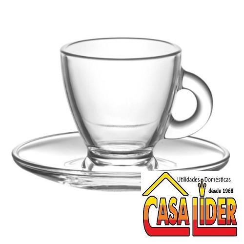 Jogo de Xícaras para Cafe 12 peças Roma LAV - 5230 - Mimo Style