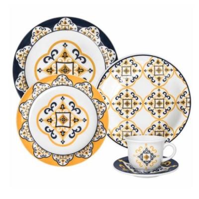 Aparelho de Jantar Chá 20 peças Floreal São Luís - J613-6779 - Oxford