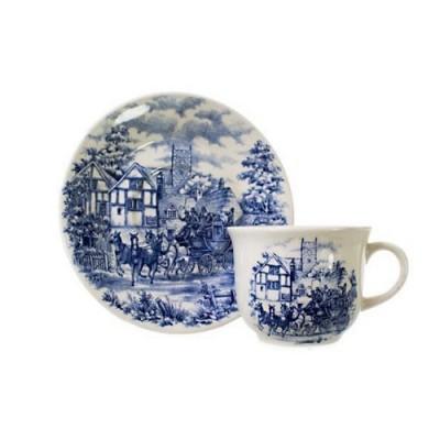 Conjunto para Chá 12 peças Cena Inglesa Linha Actual - N702-7419-1-5 - Biona