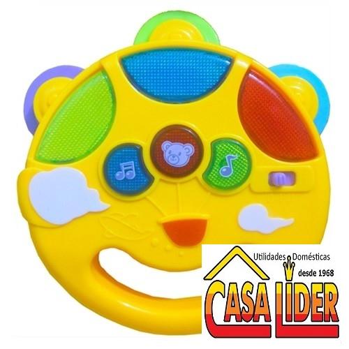 Brinquedo de Plástico para Bebes Pandeiro do Bebe - 8036 - Macro Interncaional
