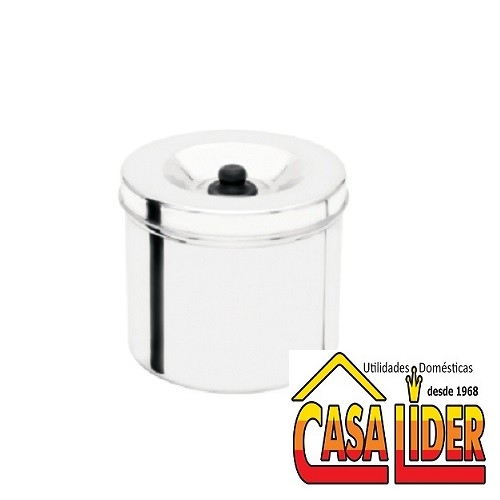 Depósito para Cereal Reforçado Polido N.20 5,50 Litros - 3216 - Fort-Lar