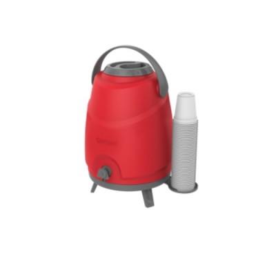 Botijão Estacionário Aspen 12 Litros Vermelho - 09000.0018.17 - Soprano