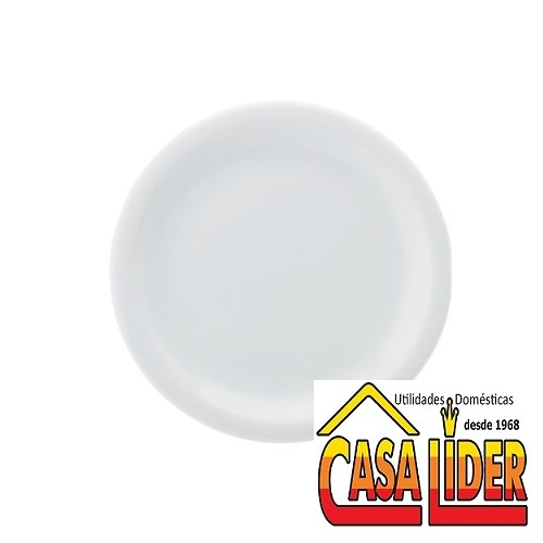 Prato Sobremesa 16cm PROTEL Branco MOD-073/DEC-0000 - 0017-5-019-073-058-0000 - Schmidt