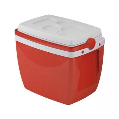 Caixa Térmica 18 Litros Vermelha - 25108182 - MOR
