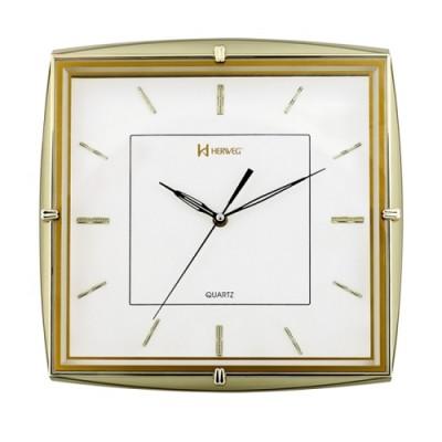 Relógio de Parede Dourado Claro Quartz - 6251-029 - Herweg