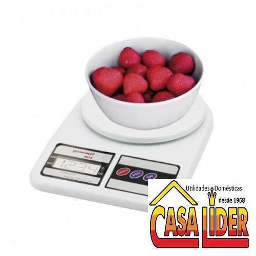 Balança Digital Precisão 5 kg Gourmet Mix - GX8002 - Marcamix