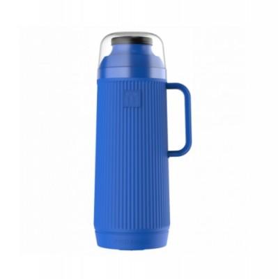 Garrafa Térmica Mundial Azul Rolha Clean 1 Litro - 54969 - TERMOLAR