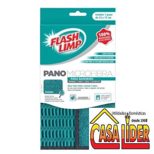 Pano Microfibra para Banheiro - FLP6711 - FlashLimp
