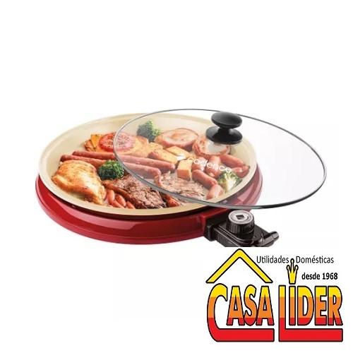 Multi Grill Cadence Ceramic Pan 35cm 127V 1200W - GRL350 - Cadence