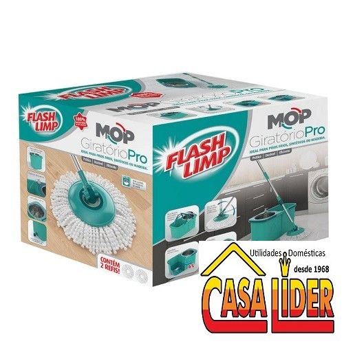 Mop Giratório PRO - MOP7824 - Flashlimp