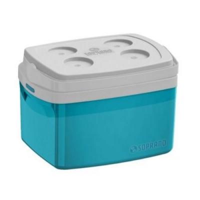 Caixa Térmica Tropical 12 Litros Azul - 09003.5056.55 - Soprano