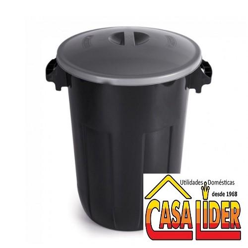 Cesto para Lixo 32,5 Litros Ecoblack - 0545 - Plasutil