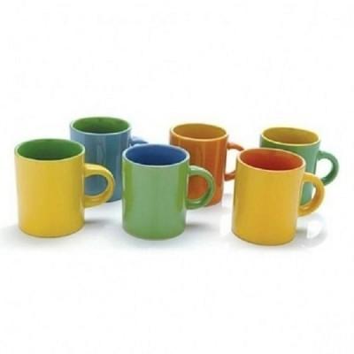Jogo de Mini Canecas Bicolor - 596-CR501 - Mimo Style
