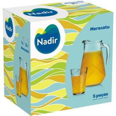 Conjunto para Refresco Maracatu 5 peças - 11992 - Nadir Figueiredo