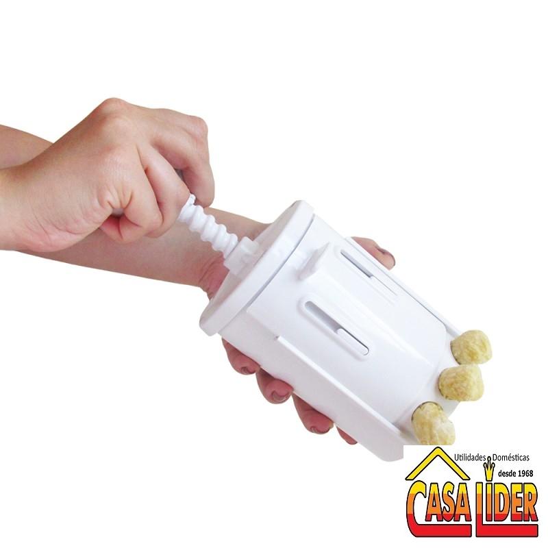 Apontador e Descascador de Legumes em plastico - 351 - KOIZAS CHIC