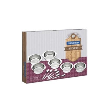 Kit para Sobremesa Aço Inox 12 peças - 64400/730 - Tramontina