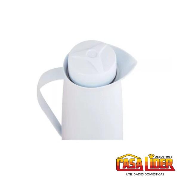 Garrafa Térmica Exclusiva 1 Litro Inox Preto - 2620.61 - Soprano