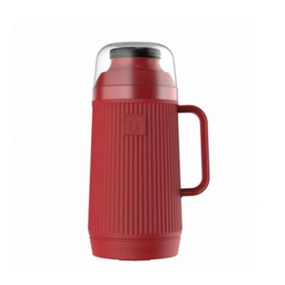 Garrafa Térmica Mundial Vermelha Rolha Clean 0,75 Litro - 55845 - TERMOLAR