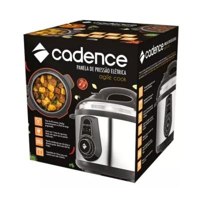 Panela de Pressão Elétrica Cadence Agile Cook 800W 127V - PAN901 - Cadence