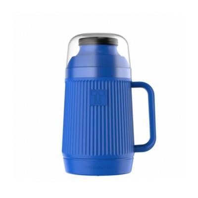 Garrafa Térmica Mundial Azul Rolha Clean 0,75 Litro - 55846 - TERMOLAR