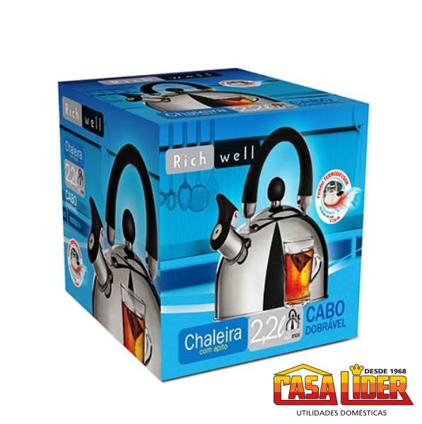 Chaleira Elétrica Cadence Thermal 127V 1200W - CEL370 - Cadence
