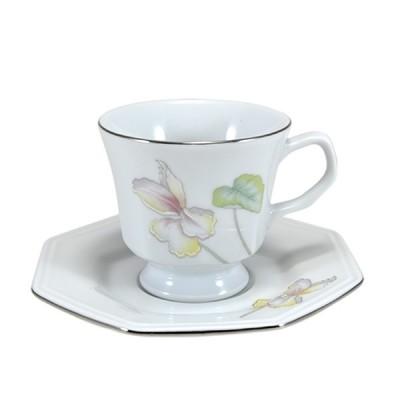 Xícara de Café Alta com Pires Decencanto - TM-008/MOD-077/DEC-E373 - Schmidt