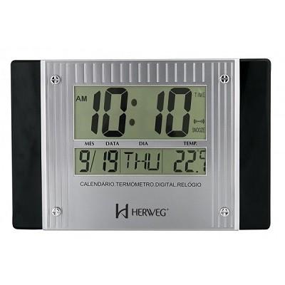 Relógio de Parede Digital Moderno - 6401-034 - Herweg