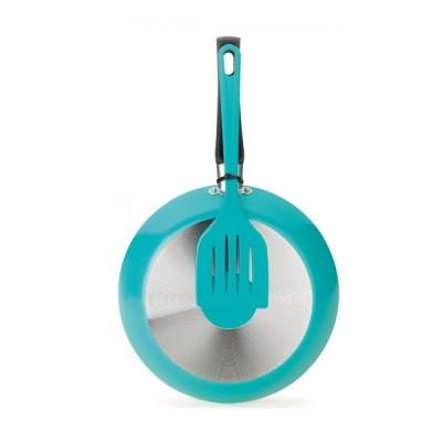 Frigideira 20 cm 0,8 Litro com Espátula Color - 77920 - Multiflon