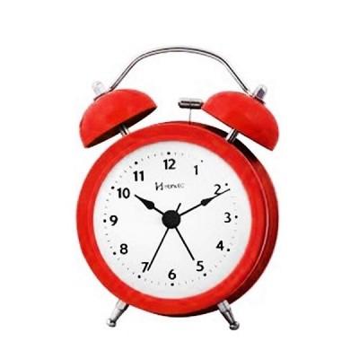 Relógio Despertador Mecânico Vermelho - 2707-044 - Herweg