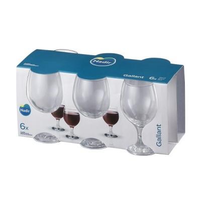 Conjunto de 6 Taça Vinho Tinto Gallant 250 ml - 1139 - Nadir Figueiredo