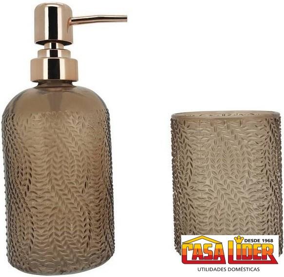 Conjunto de Banheiro Tricô- 6085 - Mimo Style